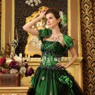 Green and Black Sweet 16 Party Dress with Jacket 14432