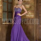 Purple Mermaid Sexy Prom Dress 0013