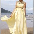 Yellow Jewel Maternity Prom Dress MG_3412