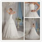 2013 luxurious and classic white net sweetehart ball gown floor length wedding dress IMG-9084