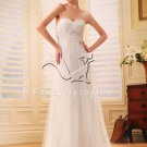charming empire net sweetheart maternity wedding dress F-094