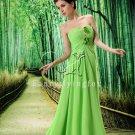 new fashion light green sweetheart a-line floor length evening dress L-022