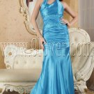 a-line floor length halter floor length blue evening dress IMG-5255