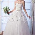 exclusive tulle sweetheart ball gown floor length wedding dress IMG-0090