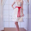 elegant satin straps a-line mini length homecoming dresses IMG-8155