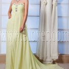 empire kelly chiffon sweetheart floor length maternity prom dress IMG-0009