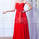 stunning red chiffon sweetheart a-line floor length formal evening dress IMG-0087