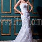 vintage 2014 strapless trumpet floor length mermaid wedding dress IMG-0395