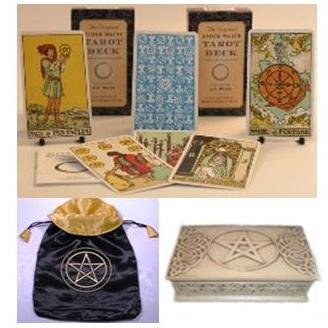 Original Rider Waite 78 Card Tarot Gift Set