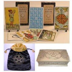 Original Rider Waite 78 Card Tarot Gift Set