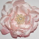 Large Light Pink Flower - Pearl Center