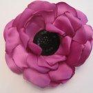 Large Purple Flower - Black Center
