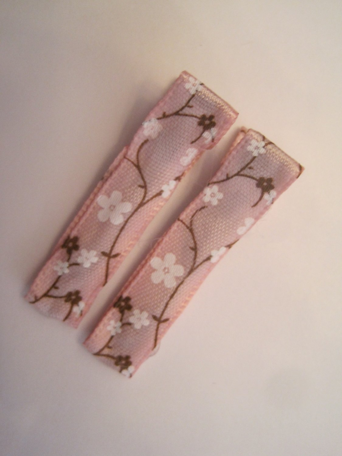 Pink Floral Lined Clippies