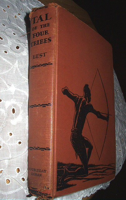 1938 Antique Book-Tal of the Four Tribes-Herbert Best-First Edition