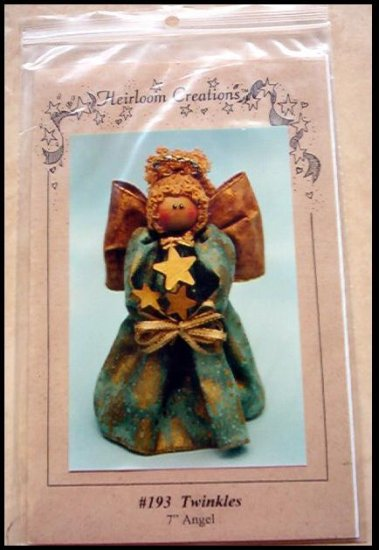 BRAND NEW IN PACKAGE HEIRLOOM CREATIONS Twinkles  Angel CRAFT PATTERN OUT OF PRINT  HARD TO FIND