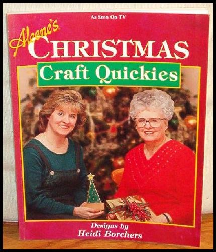 Aleene's Christmas Craft Quickies NEW CRAFT BOOK WOW 1ST EDITION HTF OUT OF PRINT RARE
