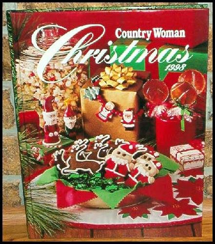 Country Woman Christmas 1998 NEW HB BOOK CROSS STITCH +