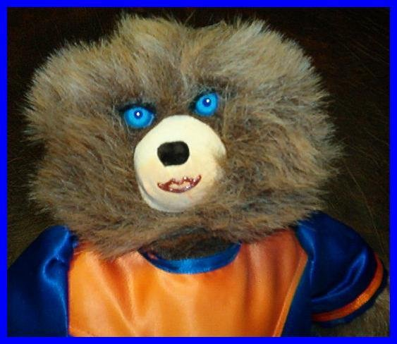 TRISSIE BURGET GATOR CHEERLEADER BEAR 1992  SIGNED