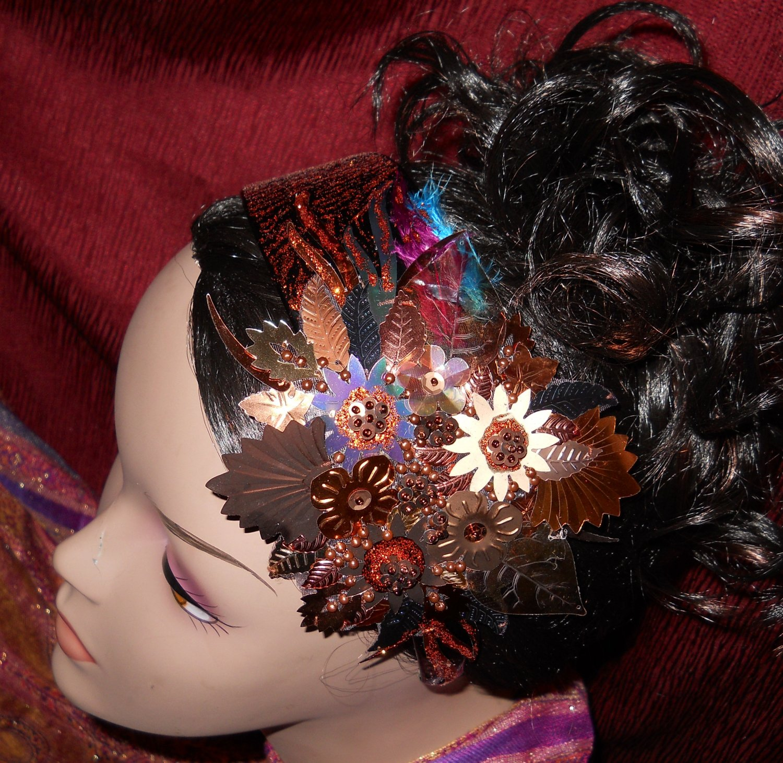 Artistic Brown Headband