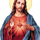 Sacred Heart of Jesus Pattern Chart Graph