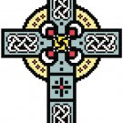 Irish Celtic Cross Pattern Chart Graph