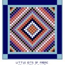 Sunshine and Shadow Quilt Pattern Chart Graph
