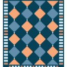 Log Cabin Variation Quilt Pattern Chart Graph
