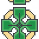 Celtic Cross Bookmark Pattern Chart Graph