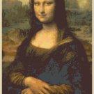 da Vinci's Mona Lisa Pattern Chart Graph
