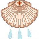 Baptismal Shell Symbol Pattern Chart Graph