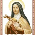 St. Therese, the Little Flower Pattern Chart Graph