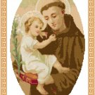 St. Anthony of Padua Pattern Chart Graph