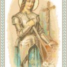 St. Joan of Arc Pattern Chart Graph