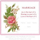 Marriage Record Sampler Pattern Chart Graph