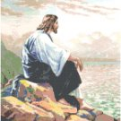 Jesus by the Sea Pattern Chart Graph