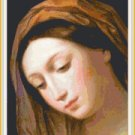 Virgin of the Annunciation Pattern Chart Graph