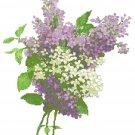 Lilac Blossoms 1 Pattern Chart Graph