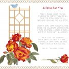 A Rose For You Pattern Chart Graph