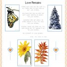 Love Remains Pattern Chart Graph