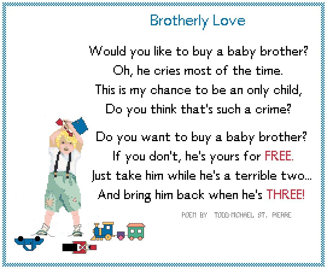 Brotherly Love Pattern Chart Graph