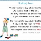 Brotherly Love Pattern Chart Graph