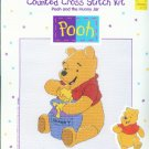 Pooh and the Honey Jar Cross Stitch Kit  #34001