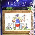 Garden Gate Cross Stitch Kit by Designs for the Needle #5121