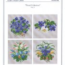 Floral Collection Vol. 3 Cross Stitch Chart Pack by Ellen Mauer-Stroh #EMS080