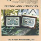 Friends and Neighbors Cross Stitch Chart Pack #AN785