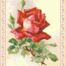 Love Is Like A Red, Red Rose Pattern Chart Graph