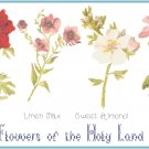Flowers of the Holy Land Pattern Chart Graph