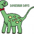 Dinosaur Days Pattern Chart Graph