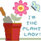 I'm the Plant Lady! Pattern Chart Graph