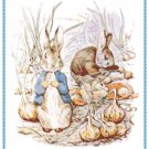 Benjamine Bunny by Beatrix Potter Pattern Chart Graph